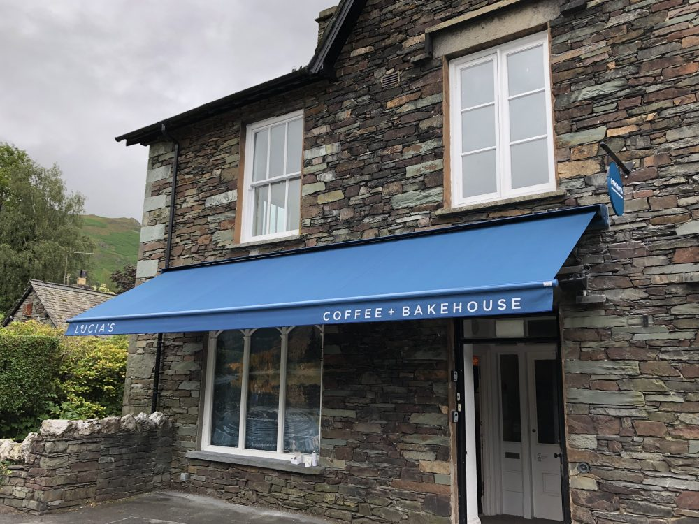 lucias grasmere awning blue